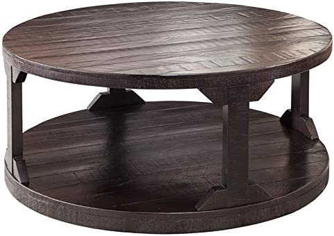 Jofran , Painted Canyon, Castored Rectangle Cocktail Table, 50 W X 30 D X 19 H, Painted Canyon Finish, Set of 1