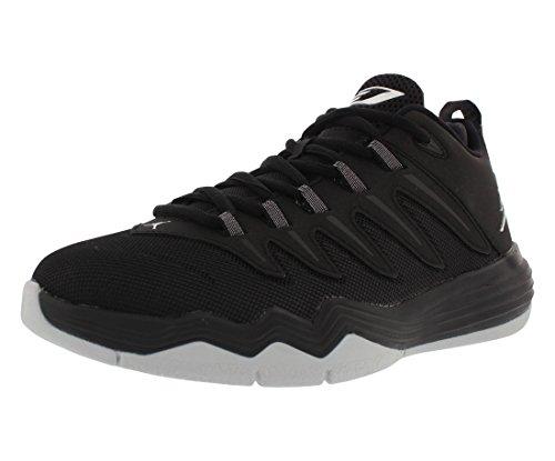 e7f63f8e3dbaa6 Jordan Nike Kids CP3.IX Black Metallic Silver Anthracite Basketball Shoe 6  Kids