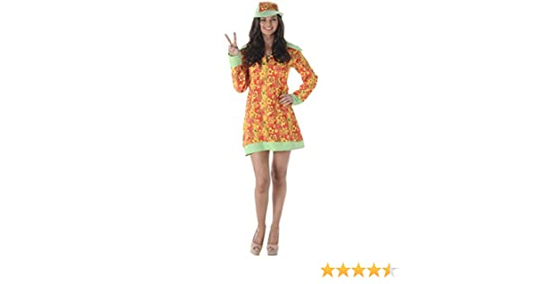 Folat B.V. Karnival Costumes - Disfraz de Hippie para Mujer ...