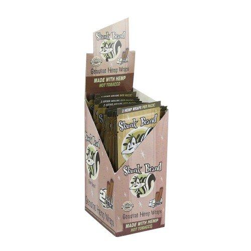 Skunk Brand Hemp Wraps - 2 Wraps Per Pack - (25 Packs)