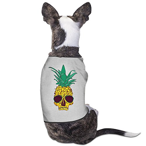 Pineapple Skull Head Sunglasses Hawaii Dog Clothes Dog Sweaters Dog - Uk Deals Sunglasses