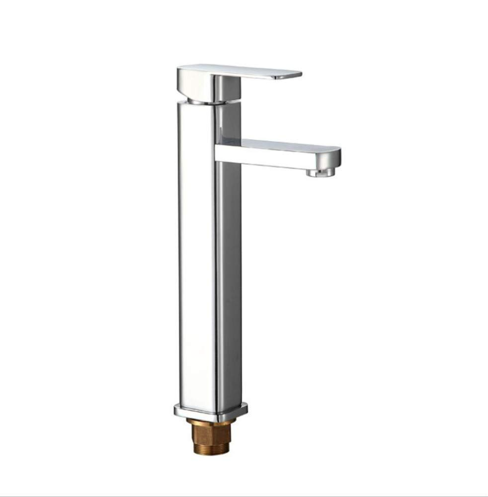 Modernsltbathroom Sink Basin Lever Mixer Tap Elevate The Tap of The Basin On The Platform. Cold and Hot Toilets. Wash Basin Single-Face Basin Tap