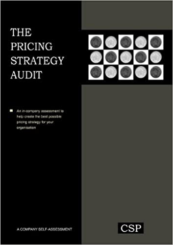 Book The Pricing Strategy Audit