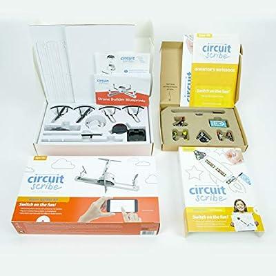 Circuit Scribe Drone Builder Kit Bundled Basic Kit: Toys & Games