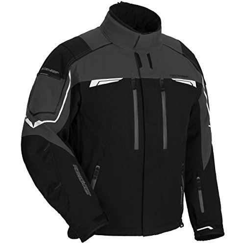 fieldsheer-diamond-plate-mens-snow-jacket-black-gun-x-large