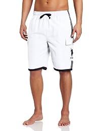 U.S. Polo Assn. Men's Side-Stripe Cargo Short with Pony Logo