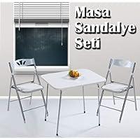 Weblonya Mutfak Masası Sandalye Seti Yemek Masası 5050