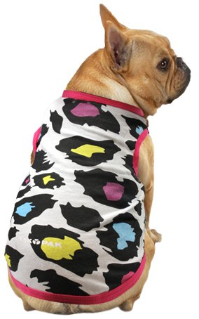 Yak Pak Dog Shirt, Medium, Multi Leopard, My Pet Supplies
