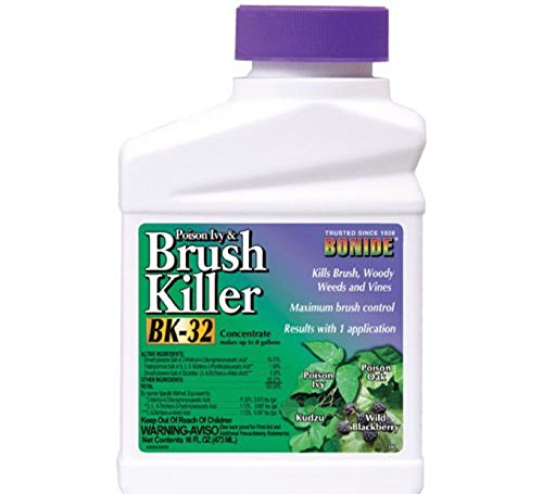 Poison Ivy & Brush Killer Bonide Bk-32 Conc 1 Pint Makes Up To 8 Gallons *** Can Not sell Or Ship To: CA; AK; DC; HI *** - Conc Weed Killer