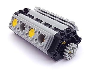 Lego Technic V8 Working Engine (56 pieces): Amazon.co.uk