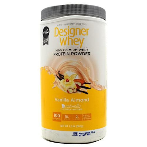 Designer Protein, Designer Whey Protein, Vanille et amandes, £ 2, de NeXT Nutrition