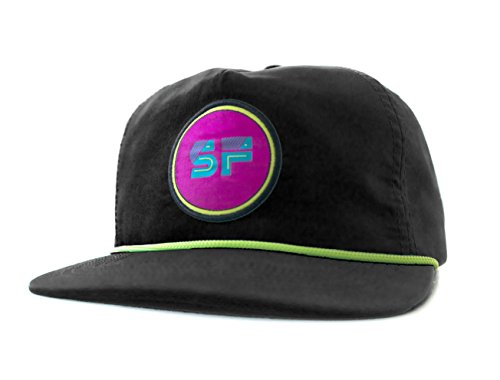 - SeaFoam Black Logo Hat