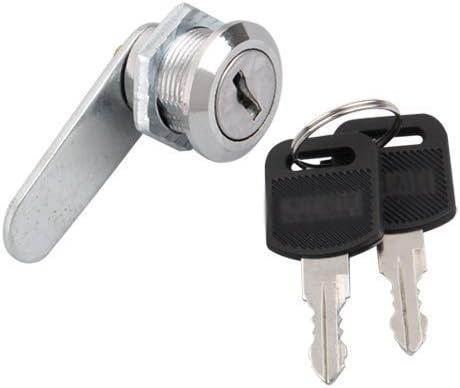 Schl/üssel LANYUER Cam Lock f/ür T/ür Cabinet Mailbox Schublade Schrank 16/mm