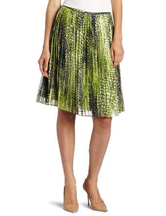 Jones New York Women's Snake Print Skirt, Vine Multi, 10