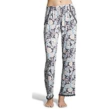 Kathy Ireland Women's Casual Lounge Pajama Sleepwear Printed Long Pajama Pants