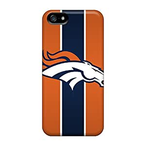 Premium Denver Broncos Back Cover Snap On Case For Iphone 5/5s