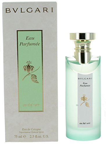 Bvlgari Eau Parfumee Eau de Cologne Au The Vert Spray for Women, 2.5 Fluid (Bvlgari Eau Parfumee Au The Vert)