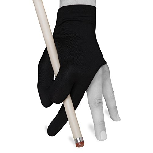 Quality gloves Billiard Fits Either Hand - One Size fits All - Choose Your Color (Black)