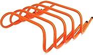 "Crown Sporting Goods SFIT-1201 6"" Speed Agility Training Hurdles, Pack"