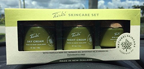 Tiaki Skincare Set, Day Night & Eye Cream  50 ml Crema Dia N