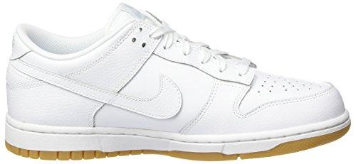 Chaussures de Gum Lt Platinum Pure Femme WMNS White Brown Blanc Cassé Low Gymnastique Dunk Nike White gwtqBIn