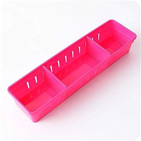 XIAOYANJIA Cajón divisor de la caja de la cocina del hogar cubertería armario de almacenamiento compartimiento