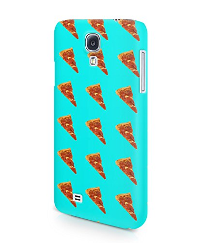 Pizza Slices Fast Food Pattern Plastic Snap-On Case Cover Shell For Samsung Galaxy S4