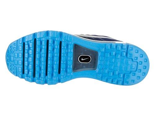Nike Mens Air Max 2017 Scarpe Da Corsa Scuro Ossidiana / Bianco / Blu Royal 849559-400 Dimensioni 11,5