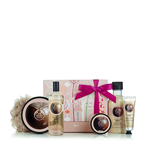 - The Body Shop Shea Essential Collections Bath & Body Gift Set, 5 pc