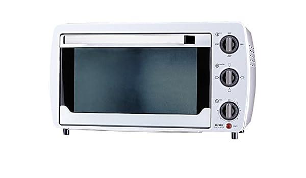 Becken JK-2001W - Mini horno 20l blanco: Amazon.es: Hogar