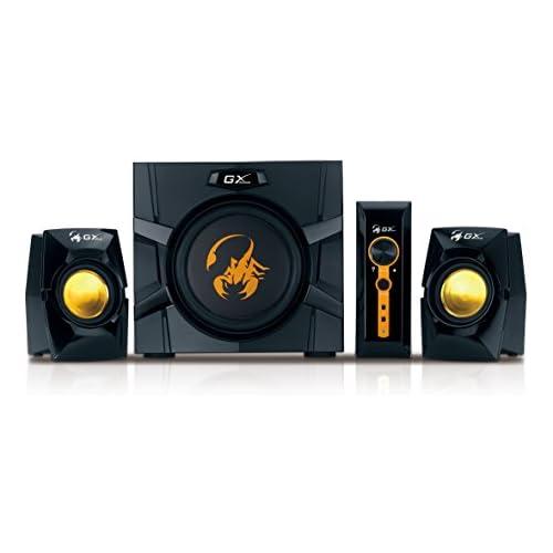 chollos oferta descuentos barato Genius SW G2 1 3000 Set de Altavoces De 1 vía 35 20000 Hz PC Corriente alterna RCA