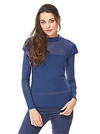 Moves Blouses For Women, Dark Blue S