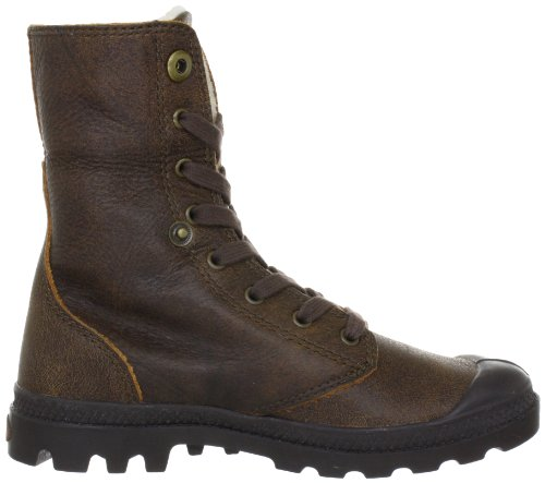 Palladium BAGGY LEATHER S - Botas de aventura, talla: 39,5, color: Marrón Amarillo
