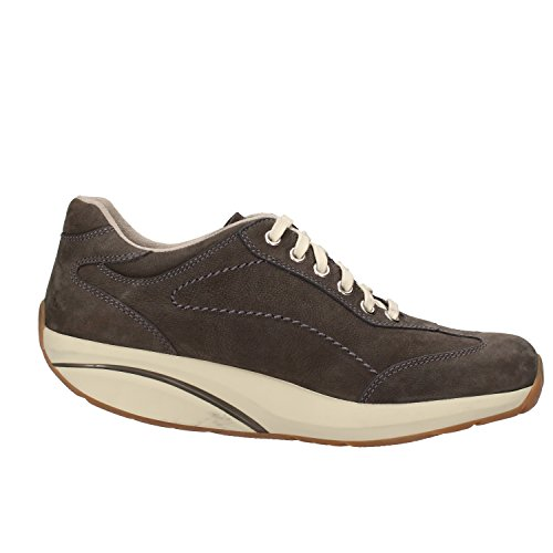 MBT Sneakers Donna 37 EU Grigio Nabuk