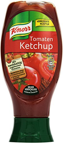 Knorr Ketchup Tomate, 8er Pack (8 x 430 ml)