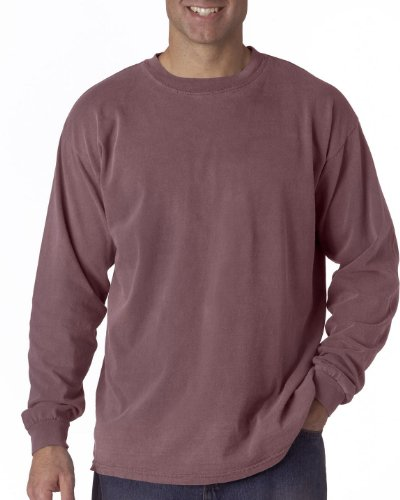 Chouinard Adult Cotton Long-Sleeve Tee (Vineyard PgmDye) (X-Large)