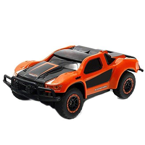 SGOTA RC Car 2.4Ghz 1:43 Mini Remote Control Electric High Speed Racing Car for Kids (Orange) (Rc Car 100 Dollar)