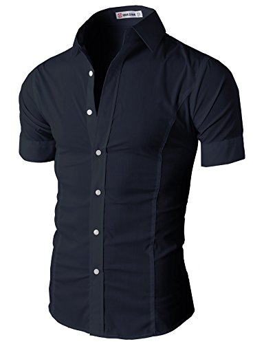 Buy mens rayon polyester dress shirts - 3