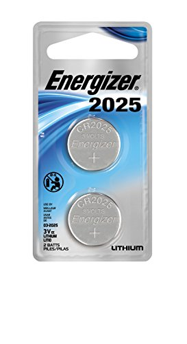 (Energizer Lithium Coin Watch/Electronic Battery 2025, 2-Count)