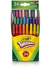 Crayola Mini Twistables Crayons, 24ct