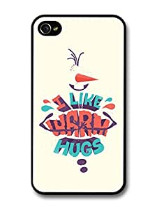 Frozen Animation Disney Movie I Like Warm Hugs Quote For Samsung Galaxy S3 I9300 Case Cover
