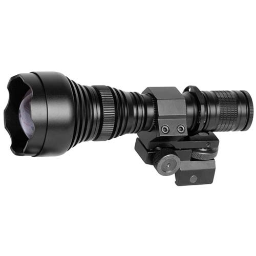 - ATN IR850 Pro Long Range 850 mW Infrared Illuminator for Hunting, Law Enforcement, Search & Rescue and Military use, Includes IR Illuminator, Battery, Charger and Mount