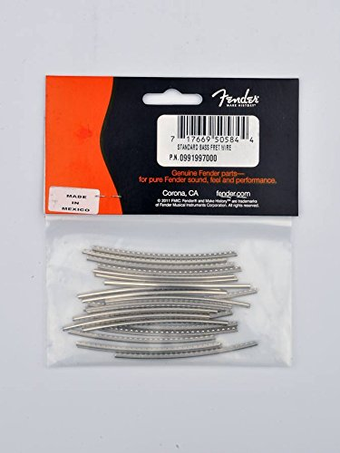 Genuine Fender Standard Bass Medium Jumbo Fret Wire 9.5 Radius