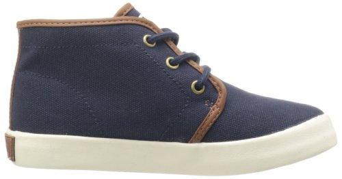 Azul marino modelo de mediados de Ralph Lauren Ethan infantil con forma de zapatillas de