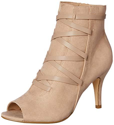 Taupe Women Sandals Beige Novo Fashion Genova XBOqTq