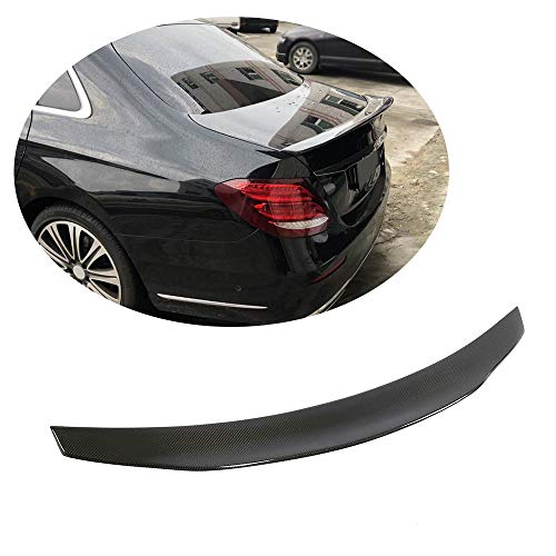 MCARCAR KIT Trunk Spoiler fits Mercedes Benz E Class Mercedes Benz E Class W213 Sedan 2017-2019 Factory Outlet E200 E250 E300 E400 E43 E63 AMG Car Carbon Fiber CF Rear Boot Lid Highkick Wing Lip (Best Rated Luxury Sedans 2019)