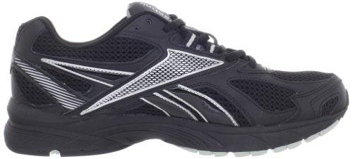 Reebok Mens Pheehan Running Shoe Black/Silver vcqdc