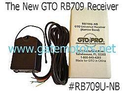 GTO RB709U 318 Mhz Receiver