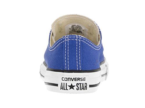 Converse Kid 's Chuck Taylor All Star Estacional Ox Fashion–Camiseta de zapatilla Oxygen Blue