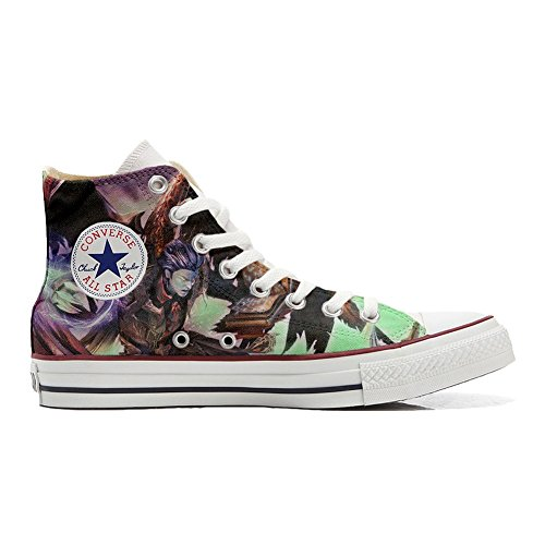 All zapatos style personalizados Star Artesano Producto Customized Converse Demon tqHOdwq